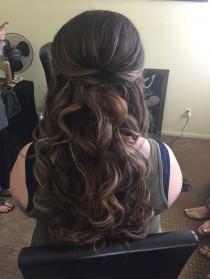 wedding photo - Stunning Half Up Half Down Wedding Hairstyles Ideas No 19