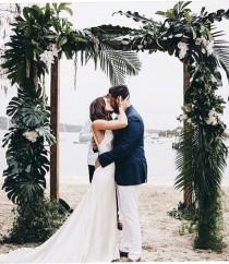 wedding photo - Golden Green