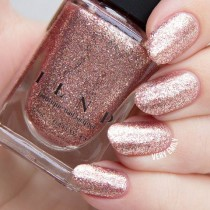 wedding photo - Juliette - Rose Gold Holographic Nail Polish