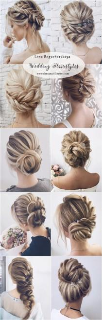 wedding photo - Makeup & Hair Ideas: Lena Bogucharskaya Long Wedding Hairstyles For Bride