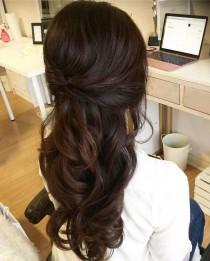wedding photo - 44 Gorgeous Half Up Half Down Hairstyles