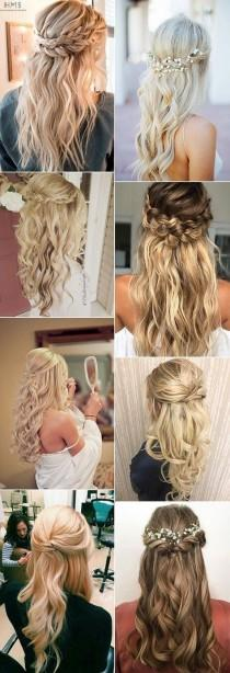 wedding photo - 15 Chic Half Up Half Down Wedding Hairstyles For Long Hair