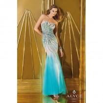 wedding photo - Alyce Paris Black Label Alyce Prom 6203 - Fantastic Bridesmaid Dresses