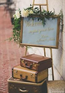 wedding photo - Top 20 Vintage Suitcase Wedding Decor Ideas