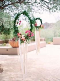 wedding photo - 40 Boho Chic Outdoor Wedding Ideas - Page 4 Of 4