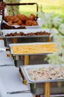 wedding photo - Top 15 BBQ Reception Ideas For Backyard Weddings