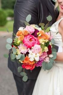 wedding photo - Colorful Whimsical Wedding
