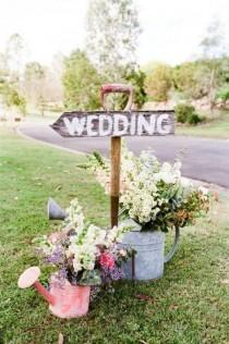 wedding photo - 40 Boho Chic Outdoor Wedding Ideas - Page 4 Of 5
