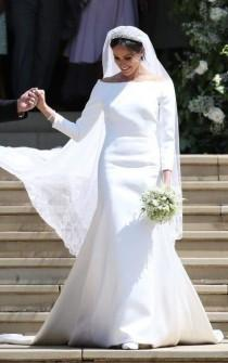 wedding photo - Meghan Markle's Wedding Dress: Clare Waight Keller Of Givenchy Designs The Royal Bridal Gown Of The Year