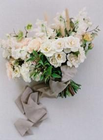 wedding photo - Organic Bridal Looks Beautifully Interpreted - Once Wed