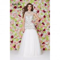 wedding photo - White Angela and Alison Long Prom 861204 Angela and Alison Couture - Rich Your Wedding Day