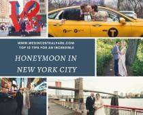 wedding photo - Top Ten Tips For A Honeymoon Or Minimoon In New York City