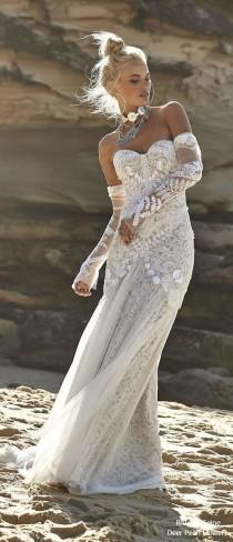 wedding photo - Rue De Seine Bohemian Wedding Dresss – Moonlight Magic