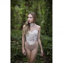 wedding photo - Luna Bodysuit - Hand-made Beautiful Dresses