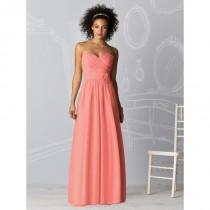 wedding photo - Dessy After Six 6610 - Rosy Bridesmaid Dresses