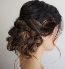 wedding photo - Wedding Hairstyle Inspiration - Heidi Marie Garrett From Hair And Makeup Girl