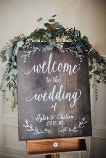 wedding photo - 18 Rustic Budget-Friendly Rustic Wedding Signs Ideas