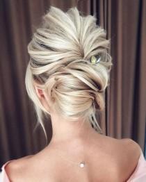wedding photo - Beautiful Wedding Updo Hairstyle Ideas 33