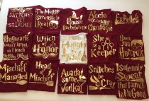wedding photo - Bachelorette Party Shirts , Harry Potter Gold Themed Bridal Shower , Tank Tops , Bride Crew T-Shirts, Wedding Gifts, Bachelorette Party