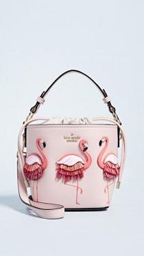 wedding photo - Flamingo Pippa Bucket Bag