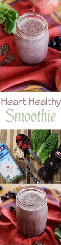 wedding photo - Heart Healthy Smoothie