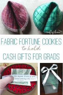 wedding photo - Fabric Fortune Cookies