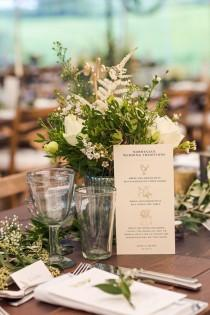 wedding photo - Rustic Soho Farmhouse Ceremony With PapaKata Sperry Tent Greenery Filled Reception