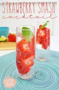 wedding photo - Easy Strawberry Drink Recipes