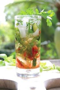 wedding photo - Salad Bowl Gin And Tonic