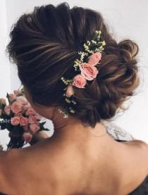 wedding photo - 96 Bridal Wedding Hairstyles For Long Hair That Will Inspire