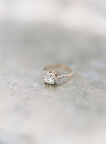 wedding photo - These 17 Fabulous Diamond Engagement Rings Are One-of-a-kind Unique Just Like You