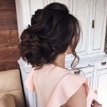 wedding photo - Beautiful Loose Updo Hairstyle To Inspire You