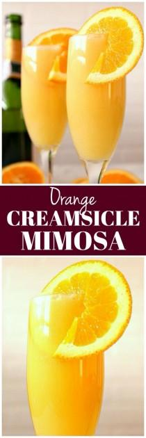 wedding photo - Orange Creamsicle Mimosa