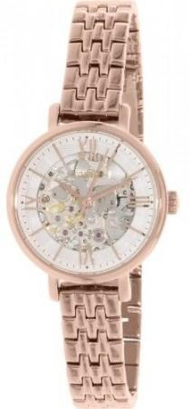 wedding photo - Fossil Women's Jacqueline ME3072 Rose Gold Stainless-Steel Automatic Watch