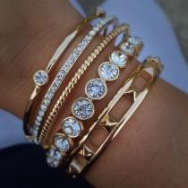 wedding photo - 125 Stacked Arm Candies Jewelry Ideas That You Will Love It Https://fasbest.com/125-stacked-arm-candies-jewelry-ideas-will-love/