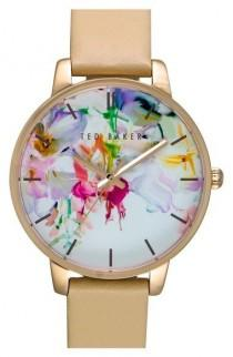 wedding photo - Main Image - Ted Baker London Leather Strap Watch, 40mm