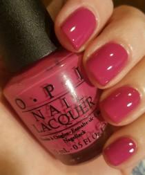 wedding photo - OPI Ate Berries In The Canaries