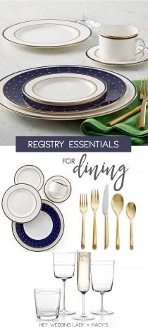 wedding photo - Top Wedding Registry Picks With Macy's