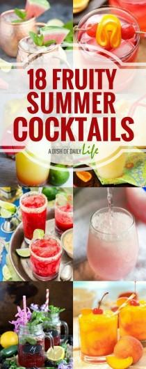 wedding photo - 18 Fruity Summer Cocktails For Your Cookouts And Parties