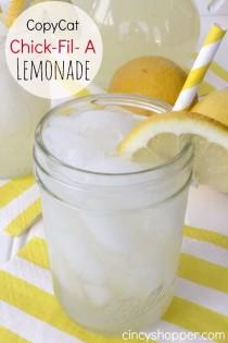 wedding photo - CopyCat Chick-Fil-A Lemonade Recipe