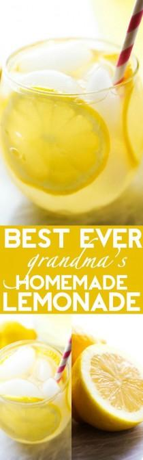 wedding photo - Best Ever Homemade Lemonade