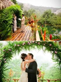 wedding photo - Costa Rican Rainforest Destination Wedding