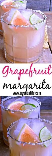 wedding photo - Grapefruit Margarita ~ The Perfect Balance Of Sweet And Tangy ~ A Classic Beverage With A Tropical Twist. Enjoy With Chips And Salsa For Easy Enter…