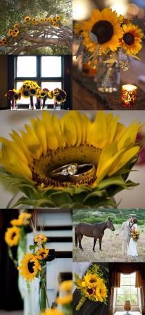 wedding photo - Sunflower Weddings