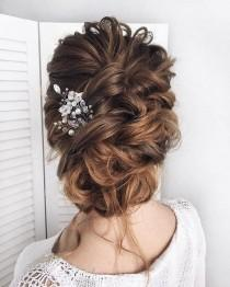 wedding photo - Gorgeous Updo Ideas ,bridal Updo Hairstyle, Wedding Hairstyles ,messy Updo Hairstyle Ideas #hairstyle #updo #updohair #bridehair #weddinghairstyles
