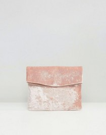 wedding photo - Velvet Foldover Clutch
