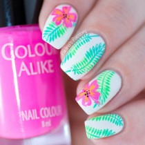 wedding photo - Paulina's PassionsWhats Up Nails Fields Of Flowers Stamping Plate Review (VIDEO)