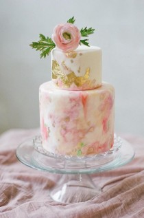 wedding photo - Wedding Cake Idea; Featured Photographer: Catherine Guidry Photography, Featured Cake: Melissa's Fine Pastries