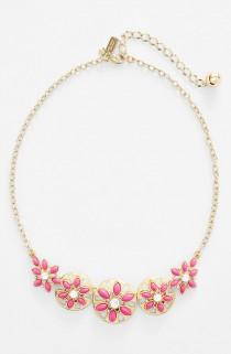 wedding photo - Loving This Ultrafemme Gold-plated Kate Spade Necklace.