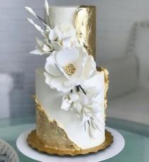 wedding photo - 30 Elegant Wedding Cakes